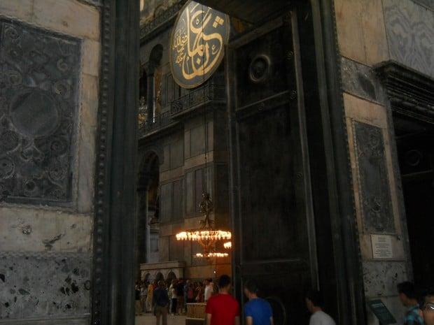 Turism Cultural - Istanbul Sfanta Sofia usa imparatului