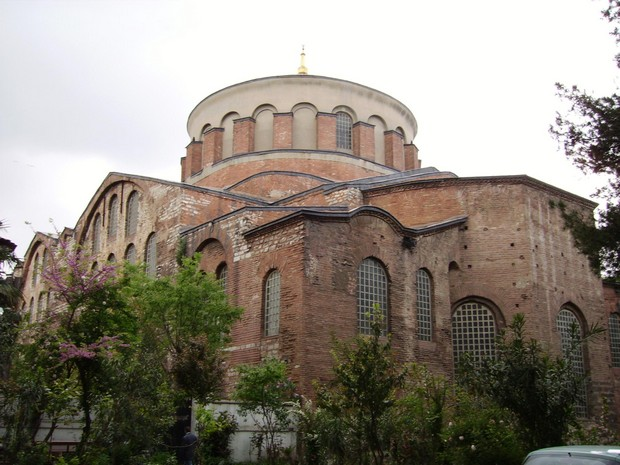 Turism Cultural - Turcia Istanbul Palatul Topkapi Biserica Irene