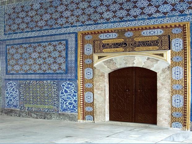Turism Cultural - Turcia Istanbul Palatul Topkapi camera circumcizie