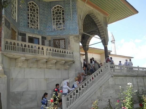 Turism Cultural - Turcia Istanbul Palatul Topkapi pavilionul Revan