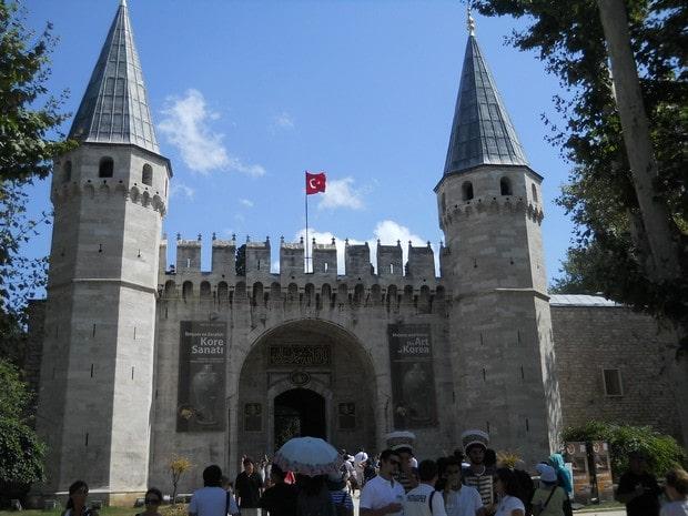 Turism Cultural - Turcia Istanbul Palatul Topkapi poarta salutului
