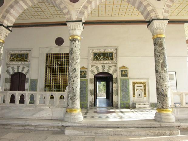Turism Cultural - Turcia Istanbul Palatul Topkapi sala audientelor
