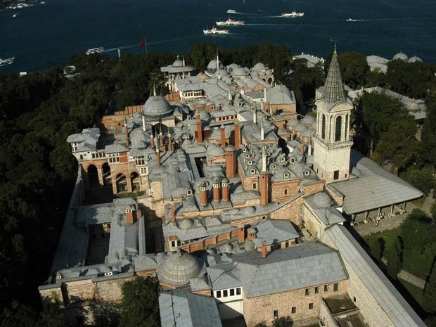 Turism Cultural - Istanbul harem vedere aeriana
