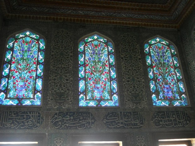 Turism Cultural - Istanbul harem vitralii