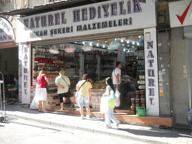 Turism Cultural - Istanbul magazin dulciuri