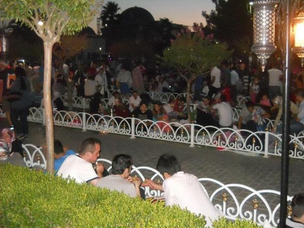 Turism Cultural - Istanbul musulmani ramadan