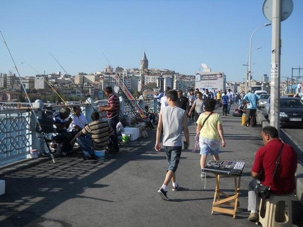 Turism Cultural - Istanbul Podul Galata