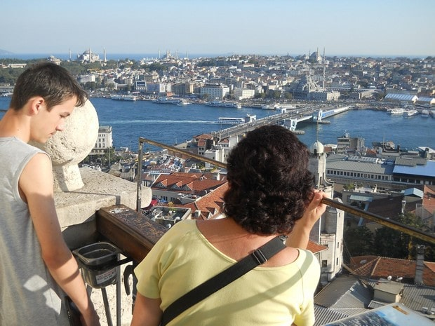 Turism Cultural - Istanbul Turnul Galata Andrei
