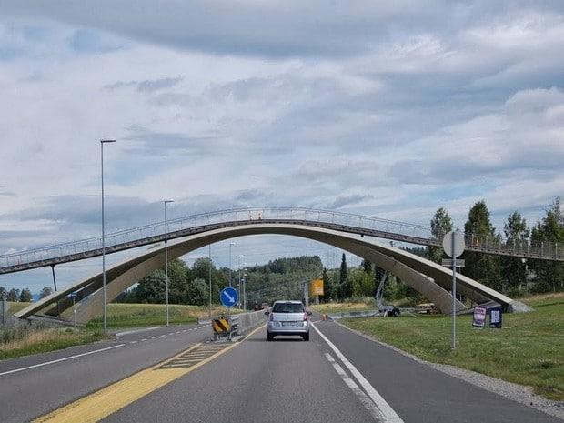 Turism Cultural - Norvegia pod construit dupa modelul lui Leonardo da Vinci