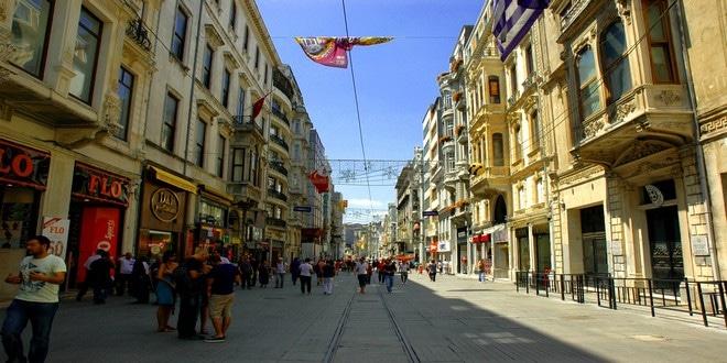 Turism Culturall - Istanbul Bulevardul Istiklal