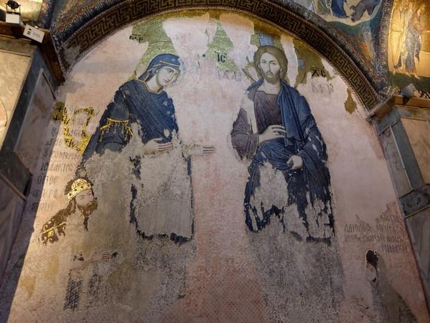 Turism Cultural - Istanbul Chora Iisus Hristos