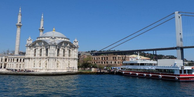 Turism Cultural - Istanbul Moscheea Ortakoy