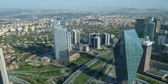 Turism Cultural - Istanbul vedere din Turnul Safir