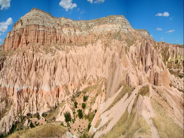 Turism Cultural - Cappadocia panorama Dealul Aktepe